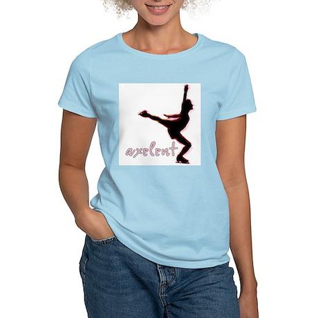Ice Skating is Axelent Women's Light T-Shirt