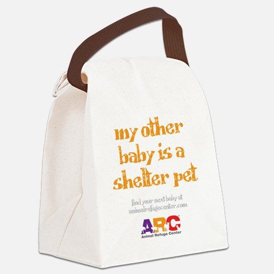 my_other_baby_is_maternity_shirt Canvas Lunch Bag