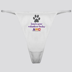 lend a paw Classic Thong