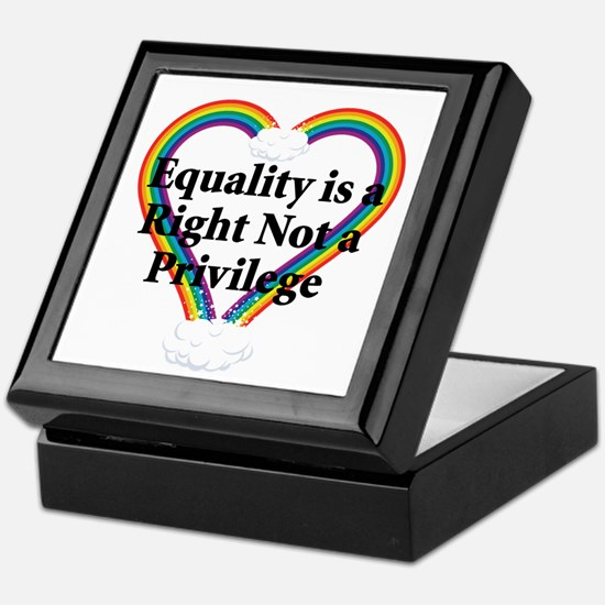 Equality is a Right 3 Keepsake Box