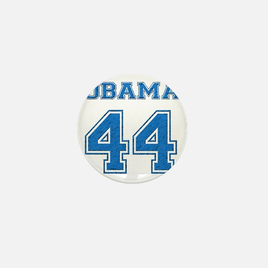 OBAMA 44 blue Mini Button