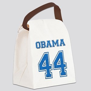 OBAMA 44 blue Canvas Lunch Bag