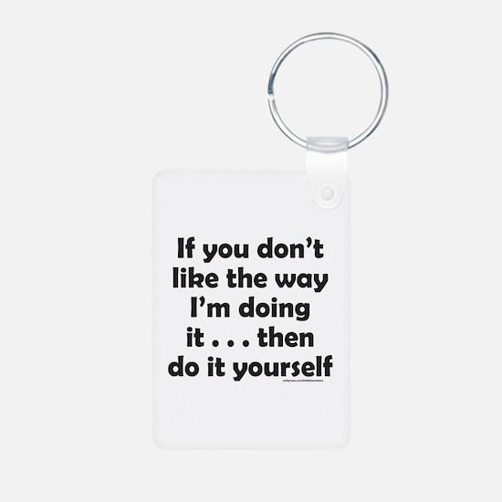 DO IT YOURSELF Keychains
