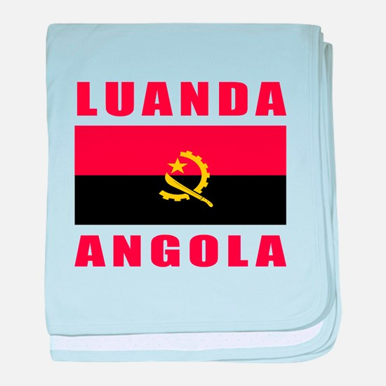 Luanda Angola Designs baby blanket