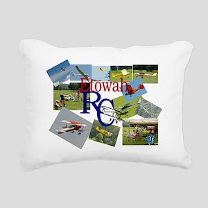 front Rectangular Canvas Pillow