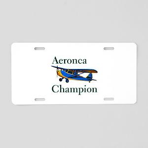 Aeronca Champion Aluminum License Plate