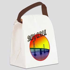 bay area certified copy Canvas Lunch Bag