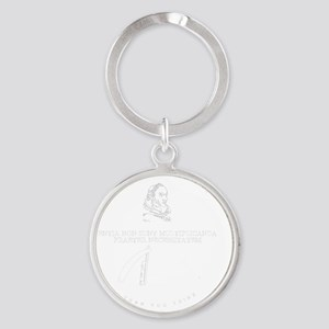 ORIS Seal with Name Round Keychain