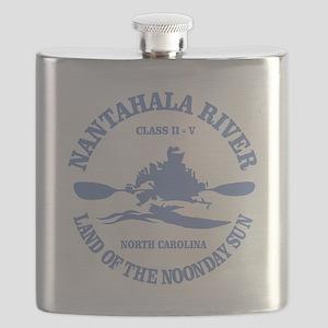 Nantahala River (kayaker) Flask
