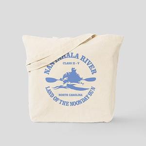 Nantahala River (kayaker) Tote Bag