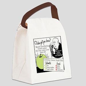 2-GreenAppleDiet Canvas Lunch Bag