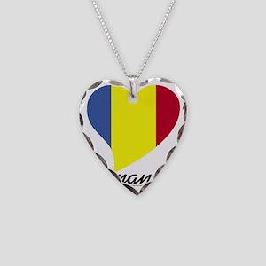 Heart Romania (World) Necklace Heart Charm
