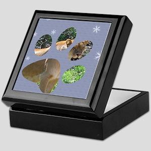 paw 2010 Keepsake Box
