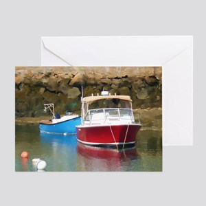 harborboat Greeting Card