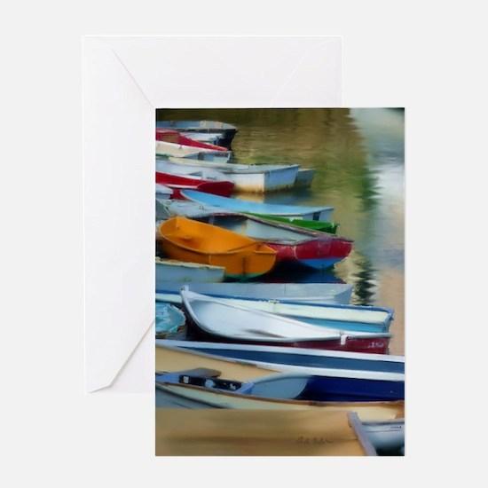 Rowboat-Row Greeting Card