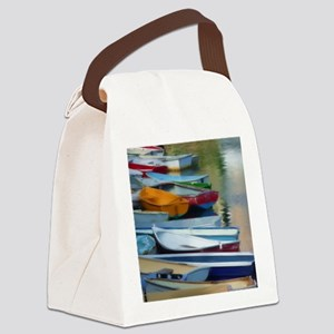 Rowboat-Row Canvas Lunch Bag