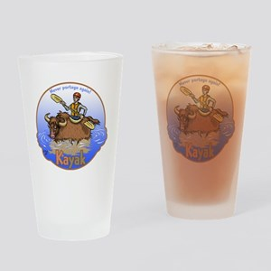 Kayak Drinking Glass