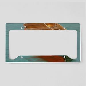 rowboat License Plate Holder