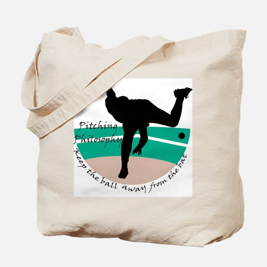 Pitching Philosophy Tote Bag