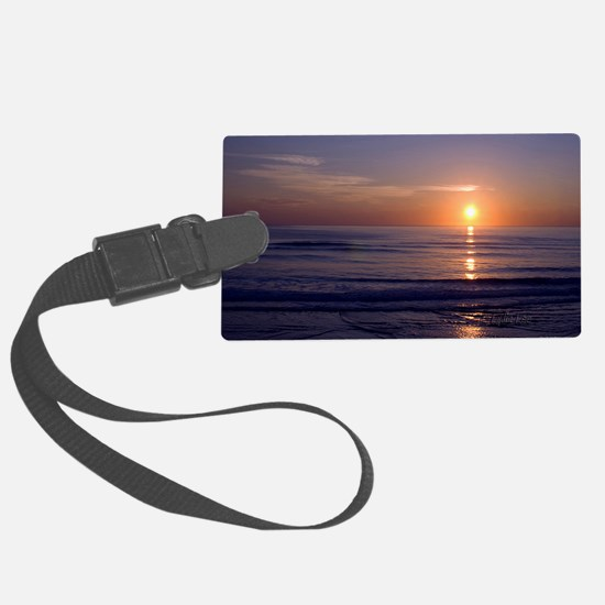 Sunrise Over Atlantic Luggage Tag