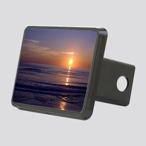Sunrise Over Atlantic Rectangular Hitch Cover