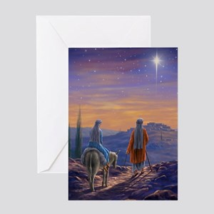 563 Mary and Joseph Greeting Card