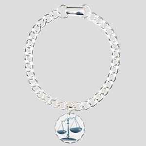 scale_of_justice Charm Bracelet, One Charm