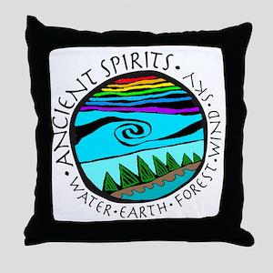 224bg AncientS Ocean  Throw Pillow