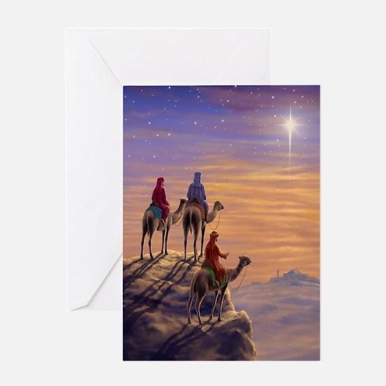 576 Three Wise Men Greeting Card
