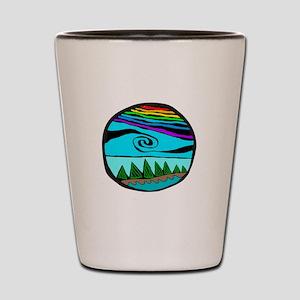 223wt AncientS ocean Shot Glass