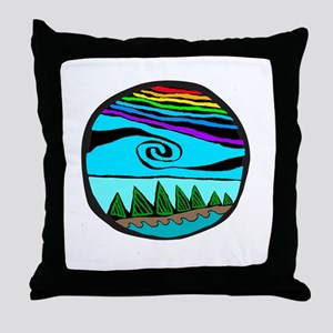 223wt AncientS ocean Throw Pillow