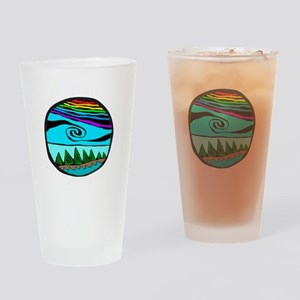 223wt AncientS ocean Drinking Glass