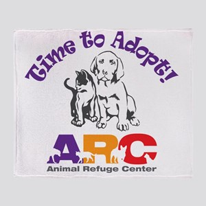2-time_to_adopt Throw Blanket