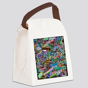 graffiti_peace_international Canvas Lunch Bag