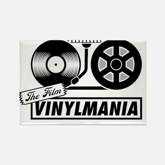 vinylmaniafilmlogo-1 Rectangle Magnet