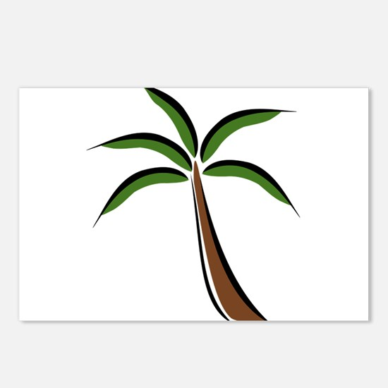 Palm Tree Postcards (Package of 8)