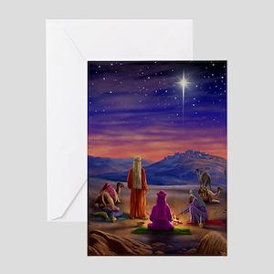 595 Three Wise Men Greeting Card