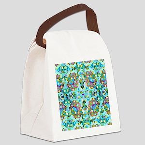 GirraffeBfabDSq Canvas Lunch Bag