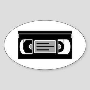 VHS Cassette Tape Sticker