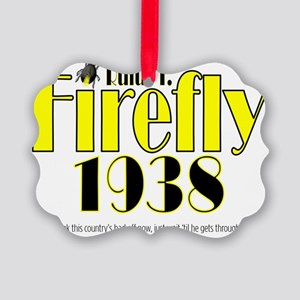 2-ART Firefly 1938 Picture Ornament