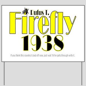 2-ART Firefly 1938 Yard Sign