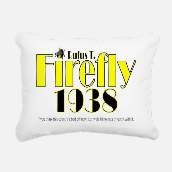 2-ART Firefly 1938 Rectangular Canvas Pillow