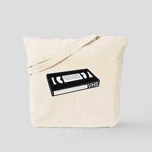 VHS Cassette Tape Tote Bag