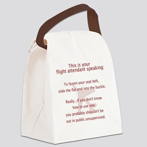 FASeatbelt Canvas Lunch Bag