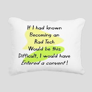Rad Tech Rectangular Canvas Pillow