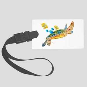 Most Popular Sea Turtle Large Luggage Tag
