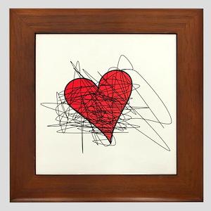 Erase Valentine's Day Framed Tile