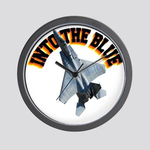 CP-T LIGHT F15 INTO THE BLUE Wall Clock