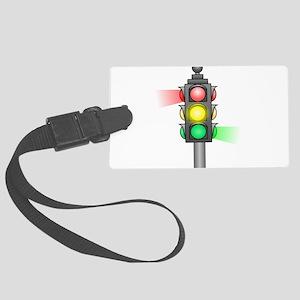 Stoplight Luggage Tag