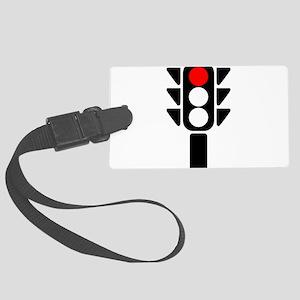 Red Light Stoplight Luggage Tag